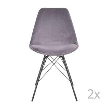 Set 2 scaune House Nordic Oslo, gri deschis bonami.ro