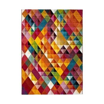 Covor Universal Belis Triangles, 140 x 200 cm, multicolor imagine