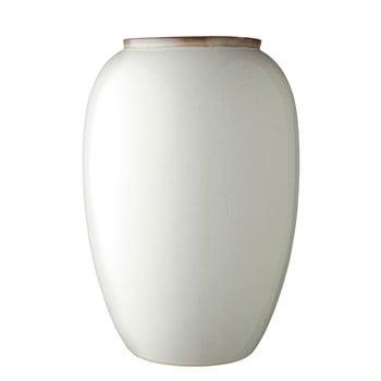 Vază din ceramică Bitz Basics Cream, înălțime 50 cm, crem
