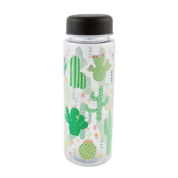 Sticlă pentru apă Sass & Belle Colourful Cactus, 450 ml poza bonami.ro