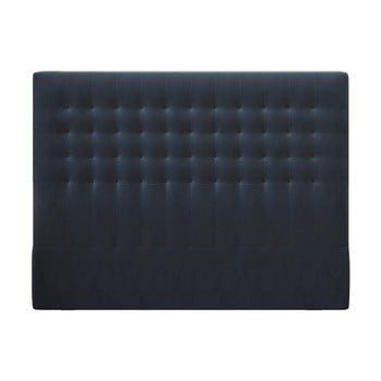 Tăblie pentru pat cu tapițerie de catifea Windsor & Co Sofas Apollo, 160x120cm, albastru închis poza bonami.ro