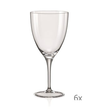 Set 6 pahare pentru vin Crystalex Kate,400ml bonami.ro