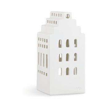 Sfeșnic din ceramică Kähler Design Urbania Lighthouse Manor, alb bonami.ro