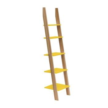 Raft în formă de scară Ragaba ASHME, lățime 45 cm, galben bonami.ro