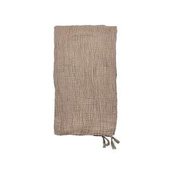 Cuvertură din bumbac pentru pat dublu Södahl Poetry,200x260cm, bej imagine