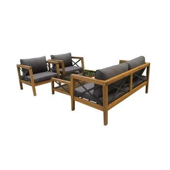 Set mobilier de grădină din lemn exotic Ezeis Balthazar poza bonami.ro