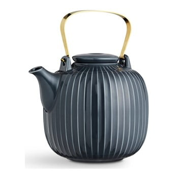 Ceainic din porțelan Kähler Design Hammershoi, 1,2 l, antracit bonami.ro