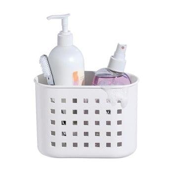 Coș cu ventuză iDesign Mini Shower, alb bonami.ro