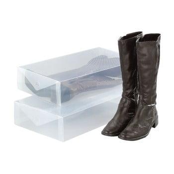 Set 2 cutii depozitare cizme Wenko Pack poza bonami.ro