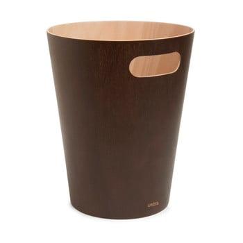 Coș de gunoi Umbra Woodrow, 7,5 l, maro poza bonami.ro