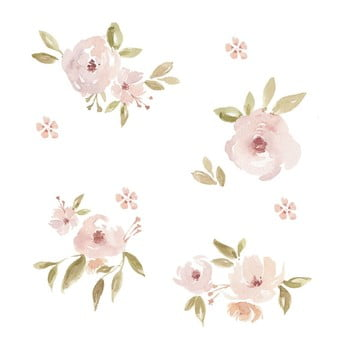 Tapet cu model floral Dekornik Magnolias poza bonami.ro