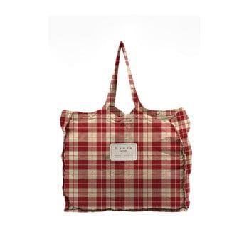Geantă textilă Linen Couture Linen Bag Cuadros poza bonami.ro