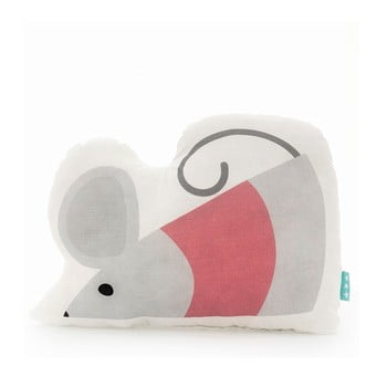 Pernă din bumbac Mr. Fox Mouse, 40 x 30 cm bonami.ro