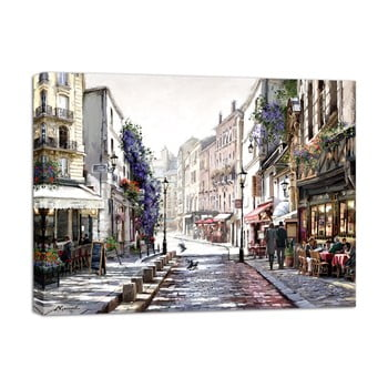 Tablou Styler Canvas Watercolor Paris II, 75 x 100 cm bonami.ro