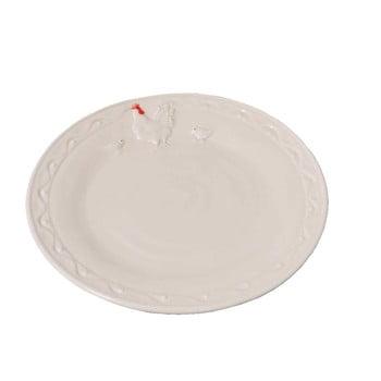 Farfurie din ceramică Antic Line Hen, ⌀ 21 cm, alb bonami.ro