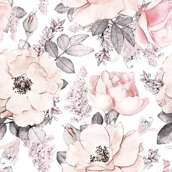 Tapet Dekornik Magnolias Garden, 100 x 280 cm poza bonami.ro