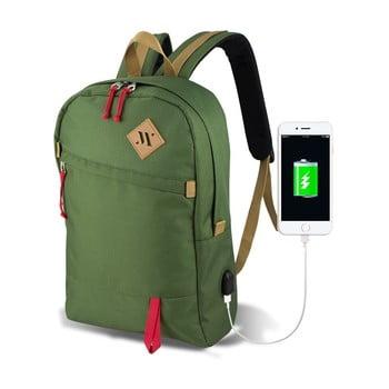 Rucsac cu port USB My Valice FREEDOM Smart Bag, verde bonami.ro