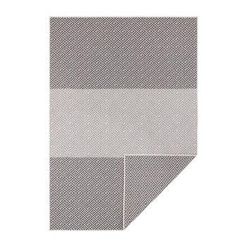 Covor reversibil adecvat interior/exterior Bougari Maui, 160 x 230 cm, negru-antracit bonami.ro