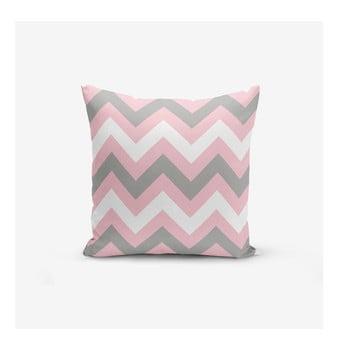 Față de pernă Minimalist Cushion Covers Zigzag Colorful, 45x45cm bonami.ro