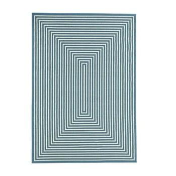Covor adecvat pentru exterior Floorita Braid, 160 x 230 cm,albastru bonami.ro