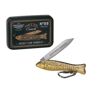 Briceag în formă de pește Gentlemen's Hardware, auriu bonami.ro