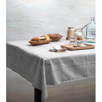Față de masă Linen Couture Grey Lines, 140 x 200 cm bonami.ro