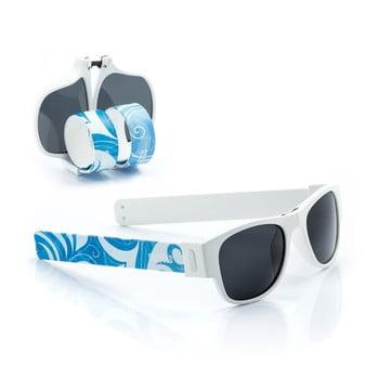 Ochelari de soare pliabili InnovaGoods Sunfold ST3, albastru - alb poza bonami.ro