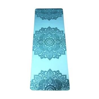 Saltea pentru yoga Yoga Design Lab Mandala Aqua, 5 mm, turcoaz bonami.ro