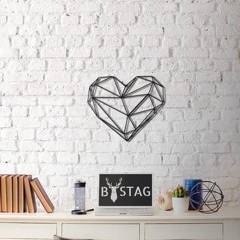 Decorațiune din metal pentru perete Heart, 40 x 37 cm poza bonami.ro