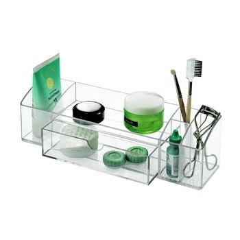 Organizator transparent cu sertar iDesign Med+, lungime 30,5 cm bonami.ro