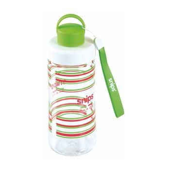 Sticlă de apă Snips Decorated, 500 ml, verde poza bonami.ro