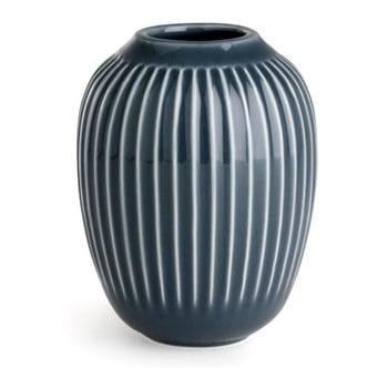 Vază din gresie Kähler Design Hammershoi, antracit, înălțime 10 cm poza bonami.ro