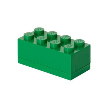 Cutie depozitare LEGO® Mini Box Green Lungo, verde bonami.ro