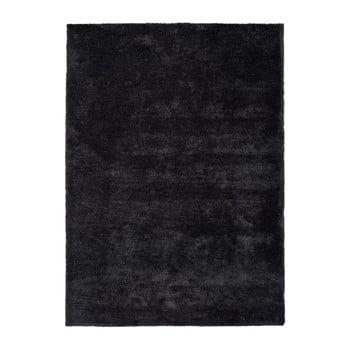 Covor Universal Shanghai Liso, 140 x 200 cm, negru antracit imagine