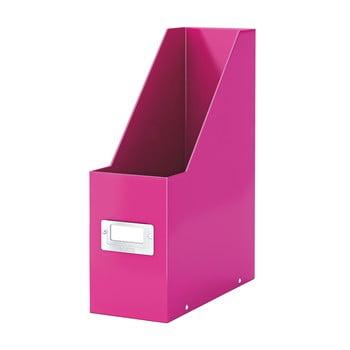 Suport pentru documente Leitz Office, roz poza bonami.ro