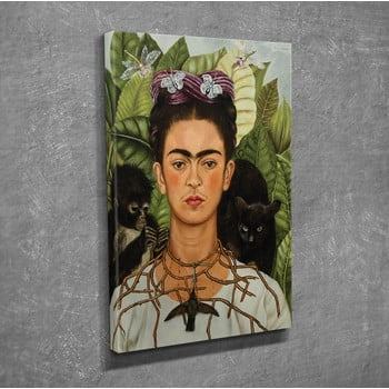 Reproducere tablou pe pânză Frida Kahlo, 30 x 40 cm bonami.ro