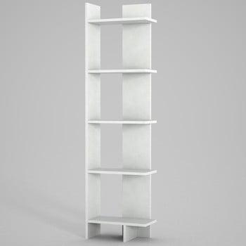 Bibliotecă Perla. înălțime 170 cm, alb imagine