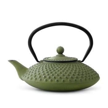Ceainic din fontă cu infuzor Bredemeijer Xilin, 1,25 l, verde bonami.ro