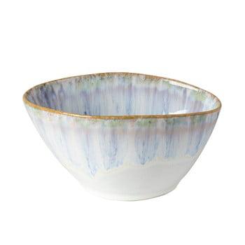 Bol din gresie ceramică Costa Nova Brisa,⌀ 16cm, alb - albastru bonami.ro