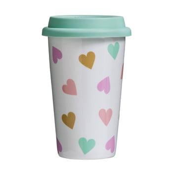Cană de voiaj Premier Housewares Confetti, 330 ml poza bonami.ro
