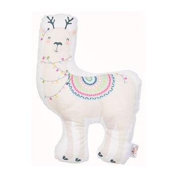 Pernă din amestec de bumbac pentru copii Mike&Co.NEWYORK Pillow Toy Llama, 26 x 37 cm bonami.ro