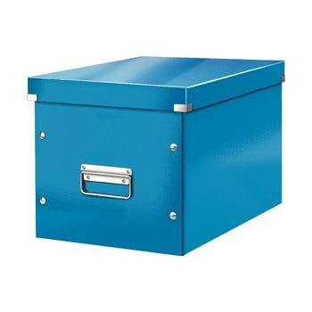 Cutie depozitare Leitz Office, lungime 36 cm, albastru bonami.ro