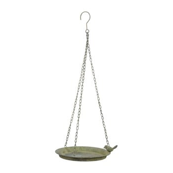 Hrănitoare pentru păsări Esschert Design, ⌀ 24,3 cm, patină verde bonami.ro