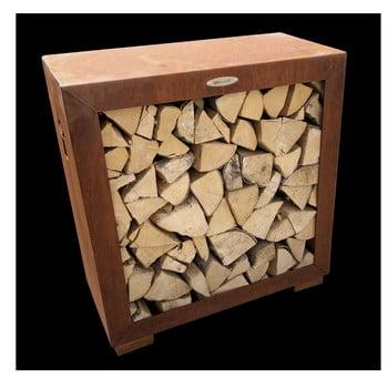 Cutie din oțel pentru depozitarea lemnelor Remundi, lățime 79 cm, maro bonami.ro