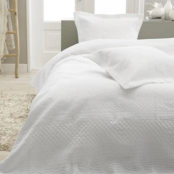 Cuvertură și 2 fețe de pernă Sleeptime Charlene 260x250cm,alb bonami.ro