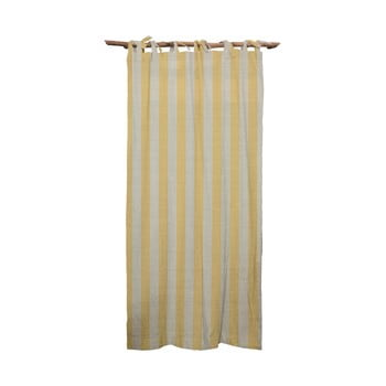 Draperie Linen Cuture Cortina Hogar Yellow Stripes, galben bonami.ro