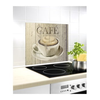 Protecție din sticlă pentru peretele din spatele aragazului Wenko Café, 60 x 50 cm poza bonami.ro