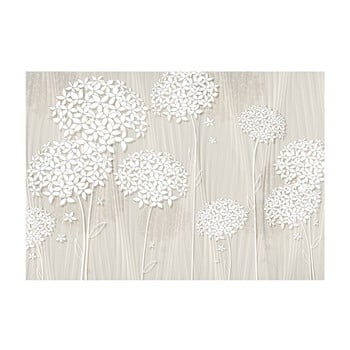 Tapet format mare Bimago Creamy Daintiness, 400 x 280 cm poza bonami.ro