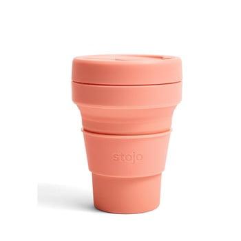 Cană pliabilă Stojo Pocket Cup Apricot, 355 ml, portocaliu bonami.ro