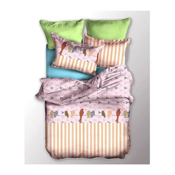 Lenjerie de pat din microfibră DecoKing Basic Chuck, 135 x 200 cm bonami.ro